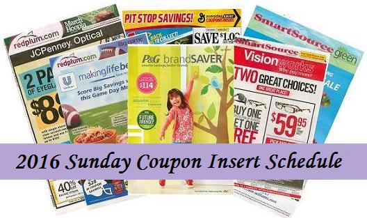 Coupon inserts 7 14 13