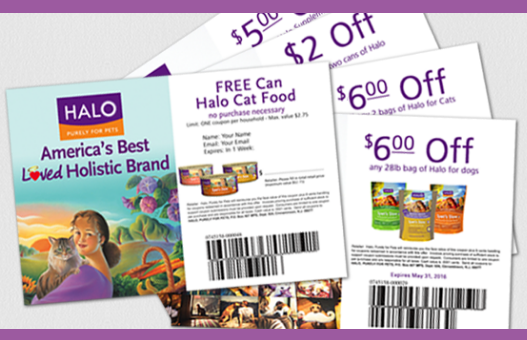 Halo Cat Food Coupons