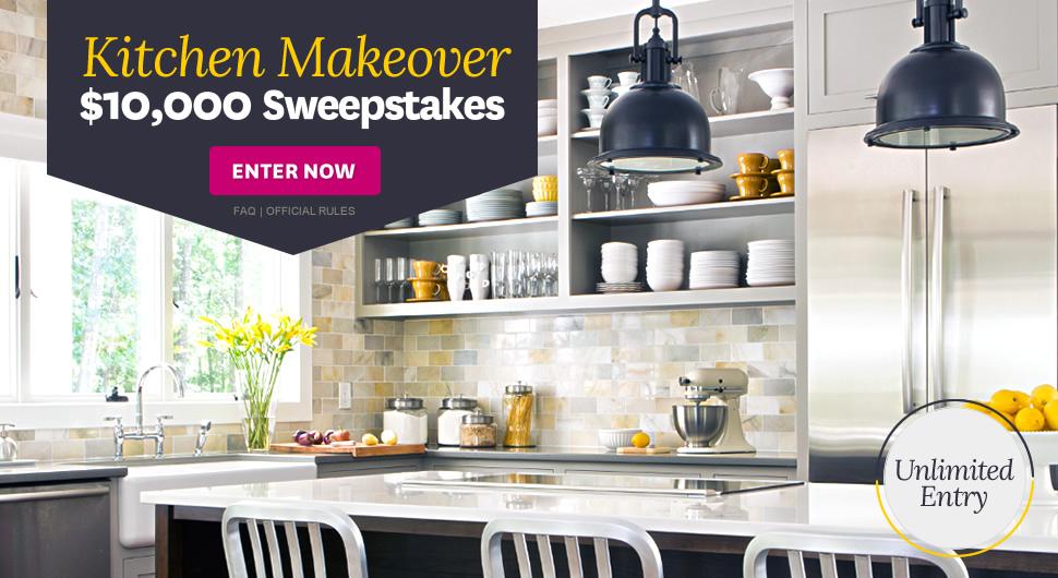 Better Homes Gardens Kitchen Makeover 10 000 Sweepstakes Familysavings