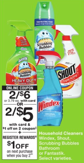 graphic relating to Scrubbing Bubbles Printable Coupon titled Fresh new Scrubbing Bubbles Printable Coupon codes - FamilySavings