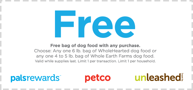 Petco Pal Rewards Members Free Wholehearted Or Whole