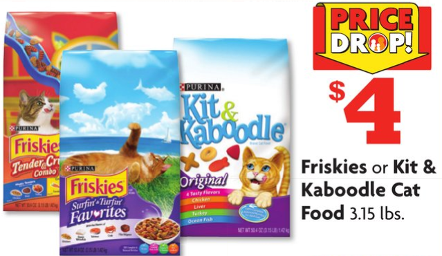 New Friskies Dry Cat Food Coupons (+ Family Dollar Deal ...