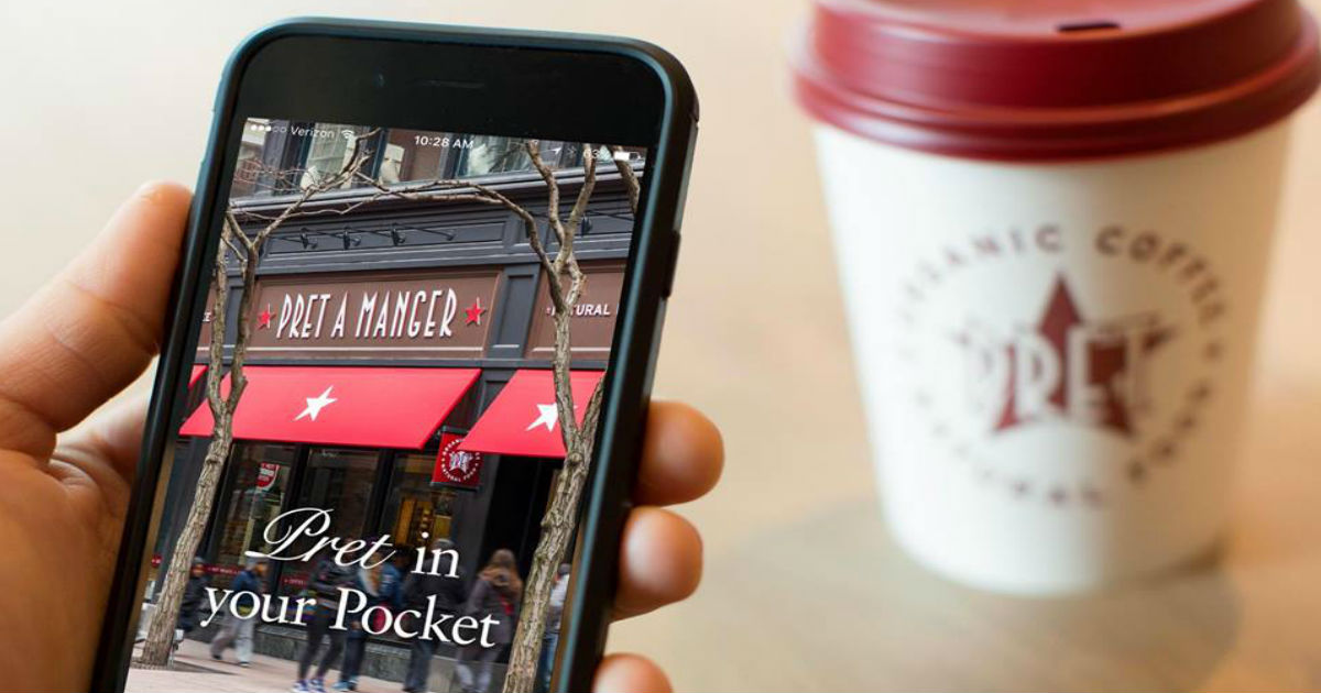 Free Coffee at Pret A Manger on Fridays!