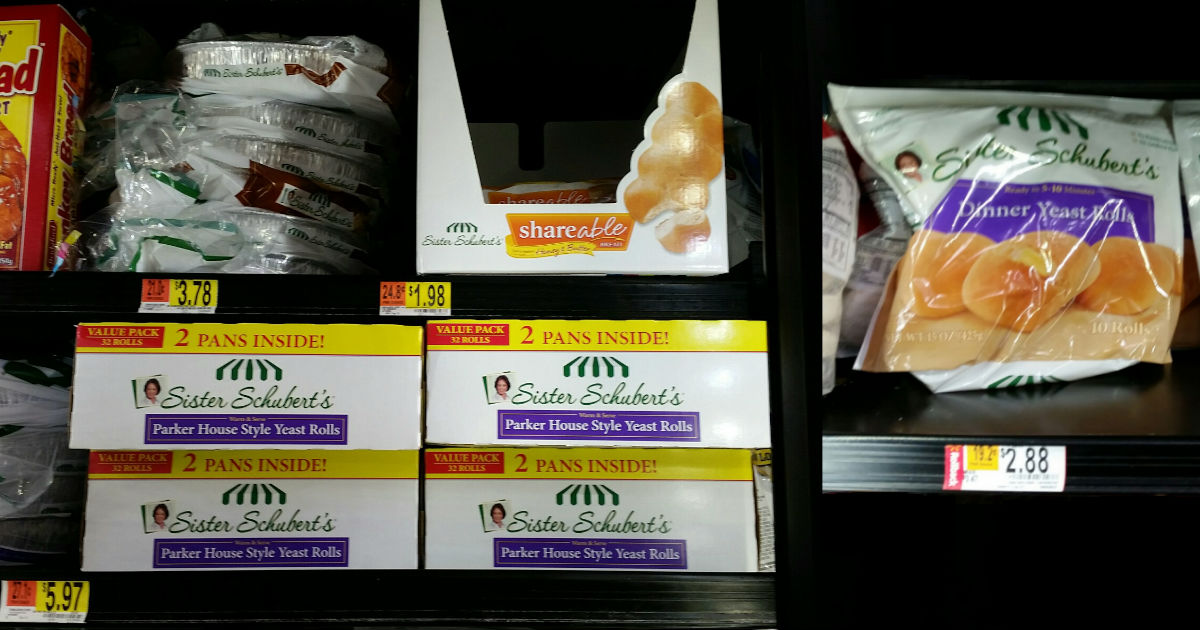 New Sister Schuberts Frozen Roll Or Bread Coupon Walmart Deals