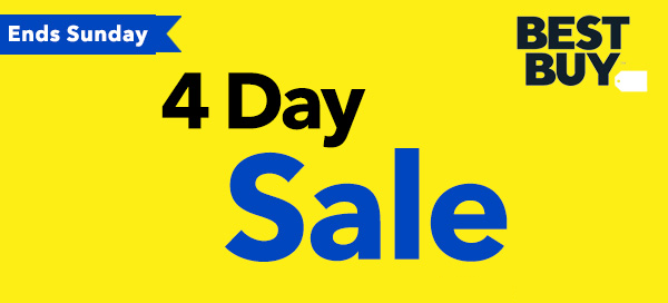 Shop the Best Buy 4-Day Sale! - FamilySavings