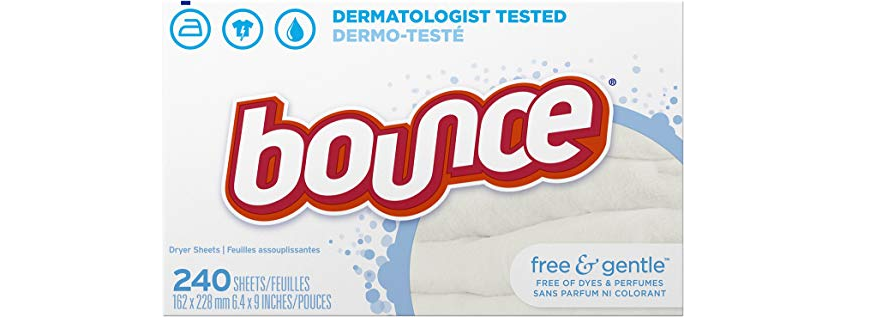 Amazon – 240-Count Bounce Free & Gentle Fabric Softener Sheets just .49! (Regularly .87!)
