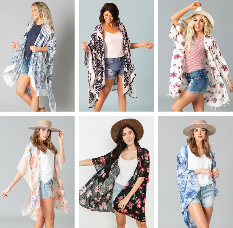 Cents of Style Kimonos – 50% off + Free Shipping!