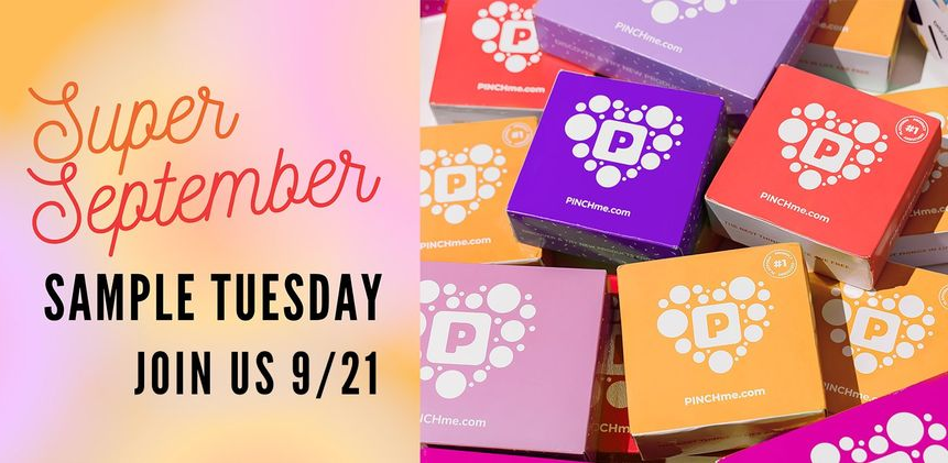 Pinch Me Samples will be released on Tuesday at 12 p.m. EST!